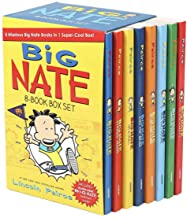 Big Nate Lincoln Peirce Series 8 Books Box Gift Set Includes Mr Popularity,Genius Mode, Here Goes Nothing,What Could Possi...