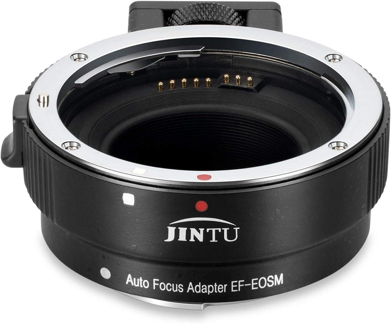 JINTU EF-EOS Opening large release sale M Auto-Focus AF Lens Adapter Converter Ring Mount half f