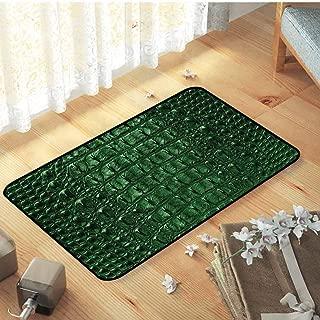 Indoor Outdoor Non Slip Door Mat Holiday Doormat Animal Print Exotic Skin Pattern for Entryway, 27.5 x 39.5 inch