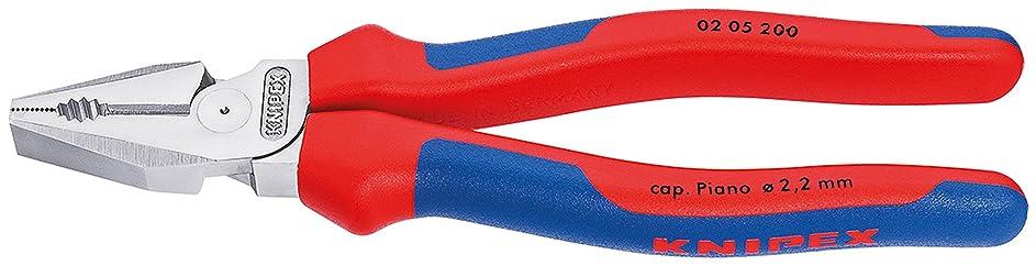 安心ネット開いたクニペックス KNIPEX 0205-200 強力型ペンチ