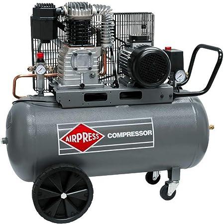 Airpress Druckluft Kompressor Hk 425 90 2 2 Kw Max 10 Bar 90 Liter Kessel Stromanschluss 400 V Baumarkt