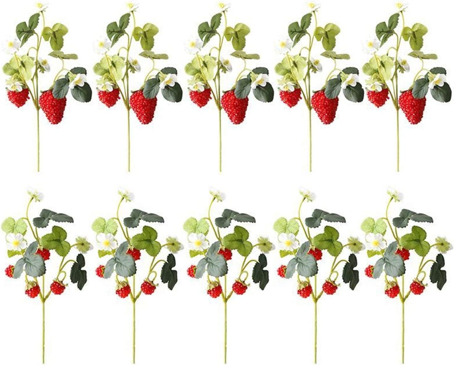 JXHYKJ 10 Bunches Fruit Paddl Decoration Flower Artificial Ranking 35% OFF TOP3