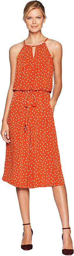 Happy Dot Cropped Jumpsuit
