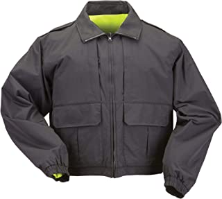 5.11 Tactical Men's High-Visibility Duty Jacket, Wind and Water Repellent Shell, Style 48095