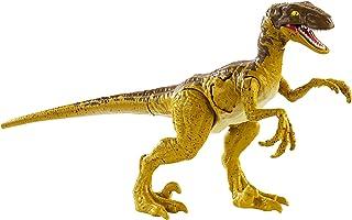 Jurassic World Battle Damage Velociraptor Figure