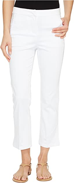 """Stretch Casual Sateen 25"""" Clean Front Capris"""