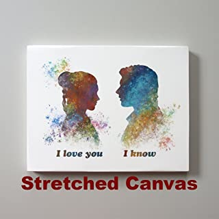 Best i love you i know canvas Reviews
