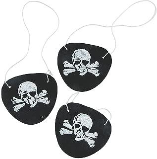 2 Set of 12 Fun Express Pirate Eye Patches bundled by Maven Gifts