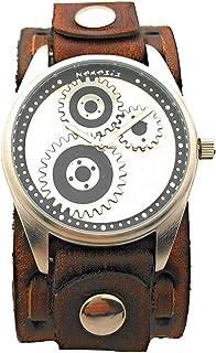 VBDS112S ネメシス ギアダイヤル 腕時計 ヴィンテージレザーカフバンド