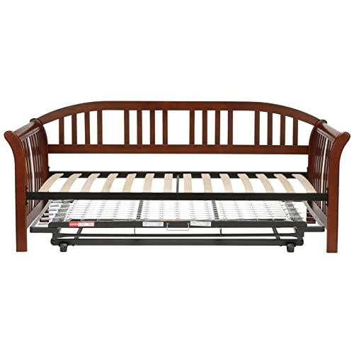 Daybed with Pop Up Trundle: Amazon.com