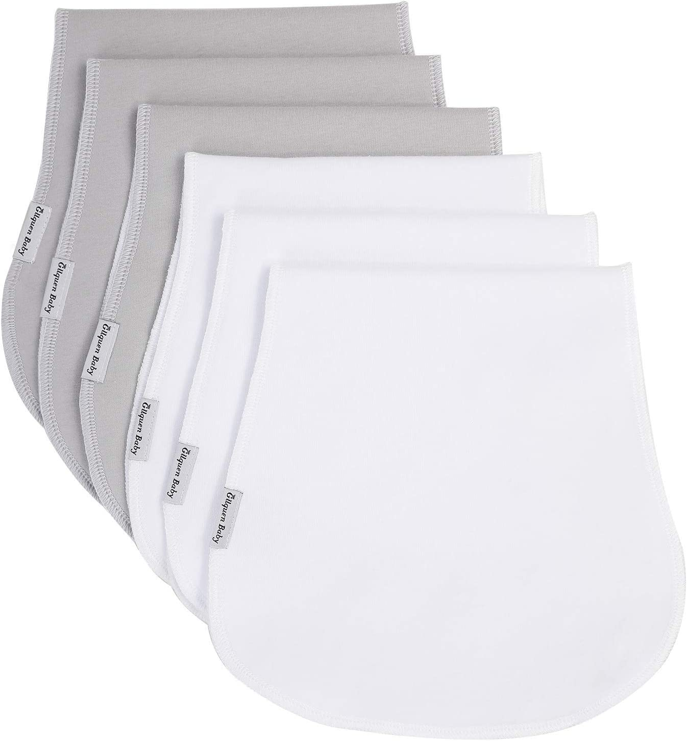 Baby Burp Cloth - [Alternative dealer] 6 Absorbent Soft Packs Burping Towels Max 46% OFF