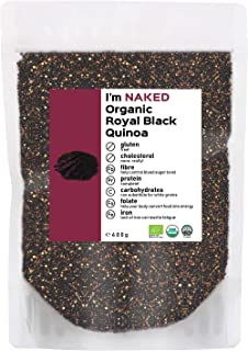 Naked Organic Royal Black Quinoa, 400g