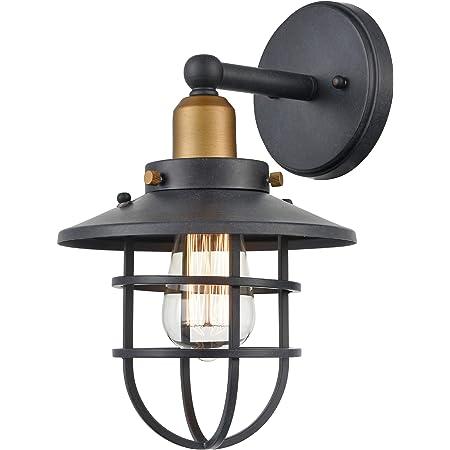 Vintage Industrial Modern Farmhouse Lighting metal pendant sconce