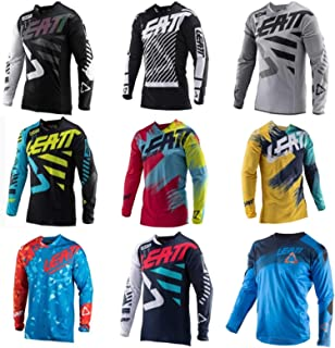 New Drying Motorcycle Jersey MX Bicycle Motocross Jersey BMX DH T Shirt Clothes Long Sleeve MTB Breathable T-shirt SYXMSM...