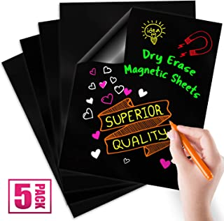 Magnetic Dry Erase Sheets | Blank 12