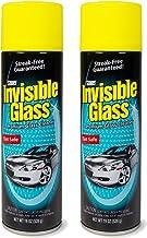 Invisible Glass 91164-2PK Premium Glass Cleaner 19-اونس قوطی - مورد 2 ، 38. بسته سیال