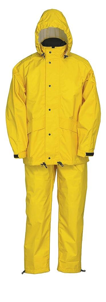 幻滅シンジケートゲームナダレス 雨衣 レインウエア スプル-スス-ツ 8010 イエロ- 4Lサイズ