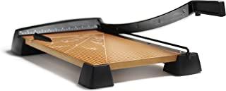 X-ACTO Heavy Duty Wood Base Paper Trimmer, 18 Inch Cut