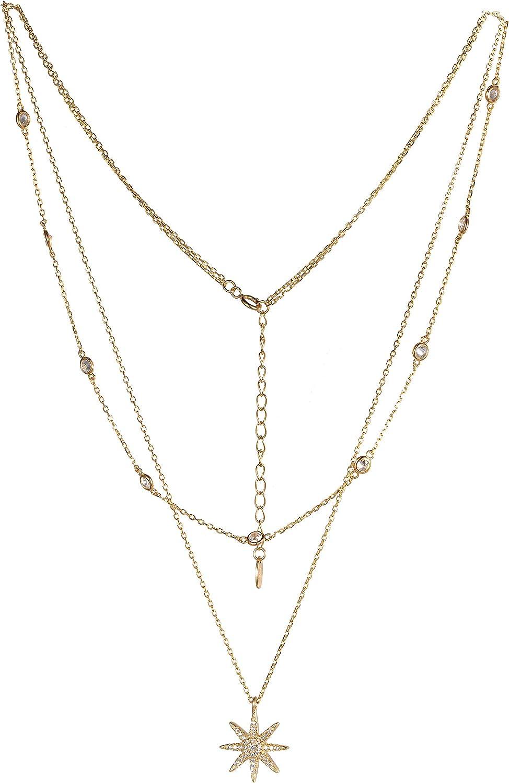 Starburst Y Necklace 20-22