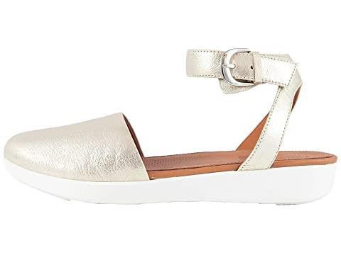 FitFlop Cova Closed Toe Sandals Metallic Silver Outlet Cheapest Price Countdown Package For Sale Official Site Sale Online lx33Y2lk