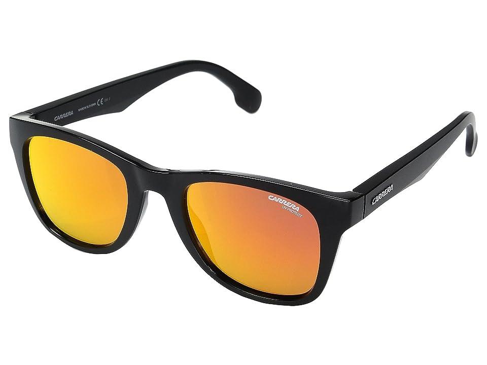 Carrera Carrera 5038/S (Black Metalized with Red Mirror Lens) Fashion Sunglasses