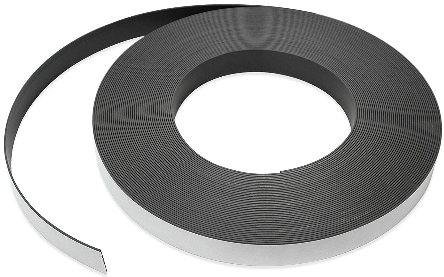 Flexible Magnet Strip with Max 62% OFF White Regular discount Vinyl Coating Thick 1 32