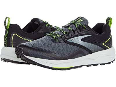 Brooks Divide 2 (Black/Ebony/Nightlife) Men