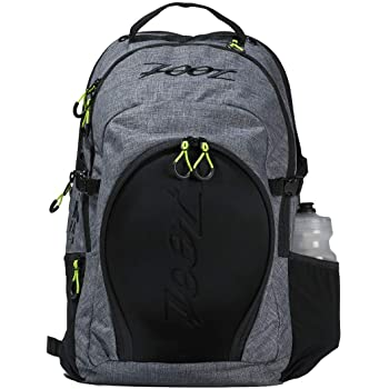 Zoot Ultra Tri Backpack - Canvas Gray Triathlon Transition Bag for Men & Women