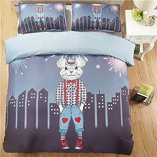 Chihen Dovet Cover Sets Cartoon Animal Bedding