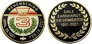 "Nascar 3 ""Dale Earnhardt"" Challenge Coin / Logo Poker / Lucky Chip"