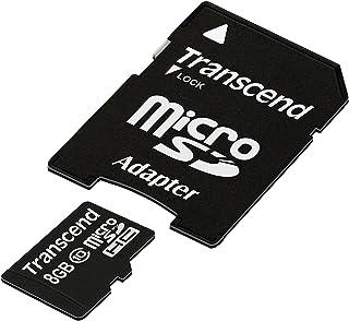 Transcend 8GB microSDXC/SDHC Class 10 (Premium) with Adapter