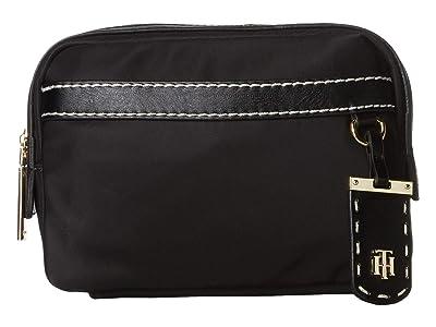 Tommy Hilfiger Julia Belt Bag (Black) Cross Body Handbags