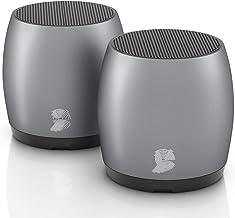 [2 Pack] HeadSound G2 Portable Wireless Bluetooth Speakers, Latest Powerful Dual True Wireless Mini Speaker Set w/Surround... photo