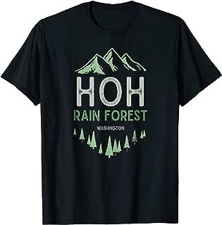 Hoh Rain Forest T-Shirt Washington Olympic National Park