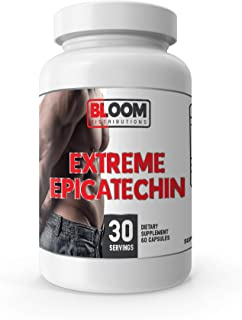 Extreme EPICATECHIN - 320MG EPICATECHIN - 60 Capsules! - Lean Mass Gains - Increase Performance - Increase Protein Synthes...
