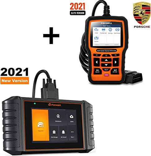 popular FOXWELL NT510 Elite Full Systems Diagnostic Tool for Porsche new arrival and FOXWELL NT716 OBD2 Scanner wholesale ABS/SRS/Engine/Transmission Diagnoses sale