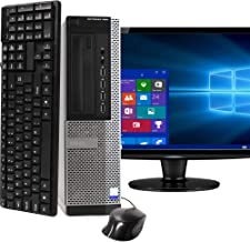 Desktop Computer Package Compatible With Dell OptiPlex 990, Intel Core i5, 16GB RAM, 2TB HDD, DVD, 20 Inch Monitor, Keyboa...