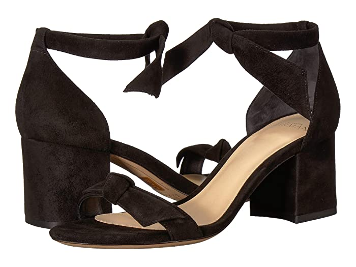 Alexandre Birman  Clarita Block (Black Fabric) High Heels
