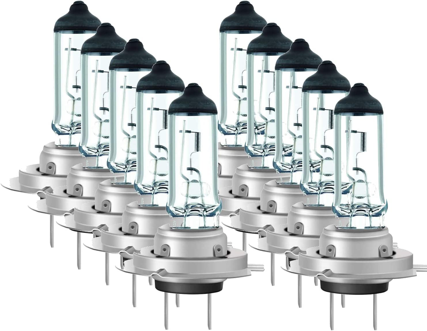 Luminizer Autolampe H7 10x H7 12v 55w Halogen Lampen Scheinwerfer Abblendlicht Mit E1 Prüfzeichen Px26d Auto