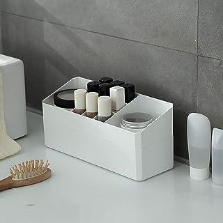 Make-updoos Cosmetische Opbergorganizer, met Compartiment Desktopkast Kaptafel Multifunctionele Desktoporganisator, voor C...