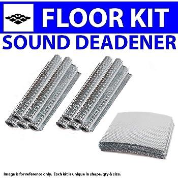 Zirgo 314783 Heat and Sound Deadener for 70-80 Monte Carlo ~ in Cabin Kit