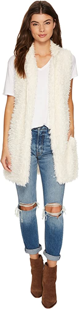 Bishop + Young - Faux Fur Vest