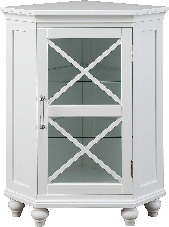 Elegant Seasonal Wrap Washington Mall Introduction Home Fashions Blue Ridge Corner Floor White Cabinet
