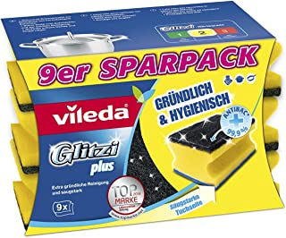 Vileda Glitzi Plus Topfreiniger, 9-pack