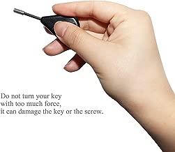 A ALPENFLOW Surf Hex Fin Key & Screws FCS Fin Grub Key/Screw Bundle Fin Tab/Screw