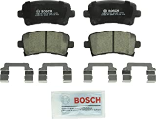 Bosch BC1430 QuietCast Premium Ceramic Disc Brake Pad Set For Select Buick Allure, LaCrosse, Regal; Cadillac XTS; Chevrolet Impala, Malibu; Saab 9-5; Rear