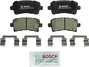 Bosch BC1430 QuietCast Premium Ceramic Disc Brake Pad Set For Select Buick Allure, LaCrosse, Regal; Cadillac XTS; Chevrolet Impala, Malibu; Saab 9-5; Rear