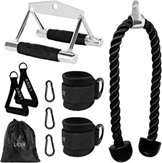 LADER Cable Machine Attachments LAT Pulldown Accessories...