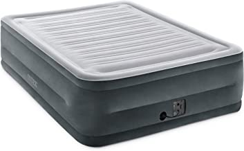 Intex Comfort Plush Elevated Dura-Beam Airbed with Internal Electric Pump, Bed Height..