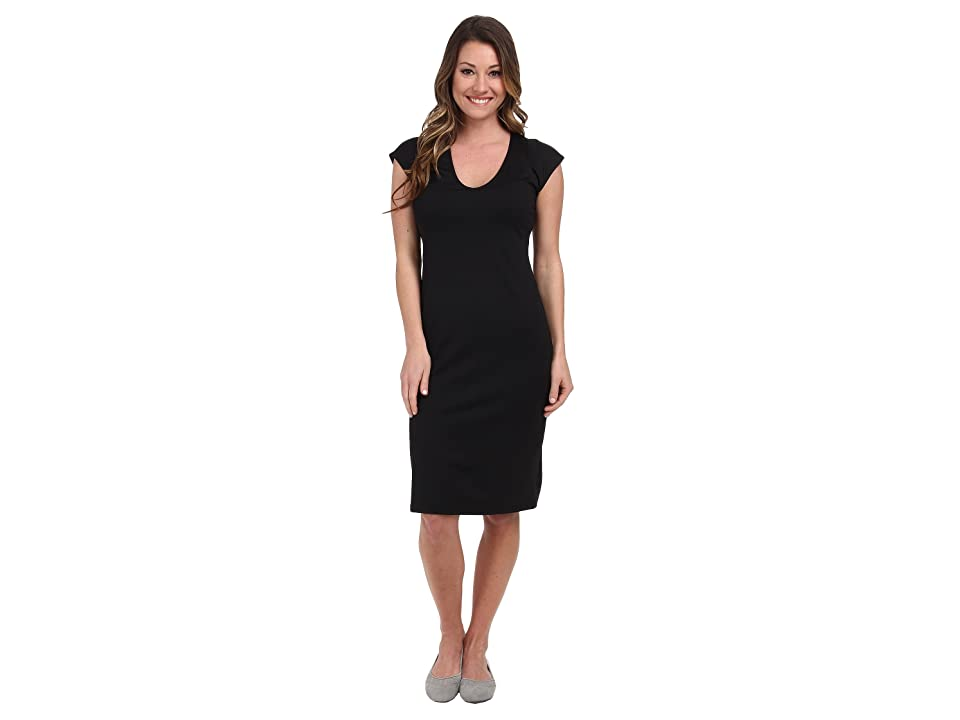 FIG Clothing Gig Dress (Black) Women